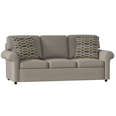 Bulfinch Sofa Body Fabric: Grande Steel, Pillow Fabric: Stella Pewter
