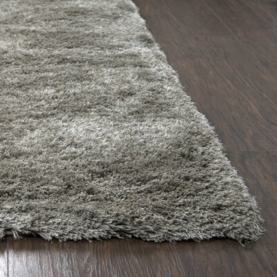 Mathena Shag Hand-Woven Oatmeal Area Rug Rug Size: Rectangle 9 x 12