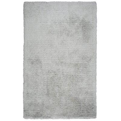 Mathena Shag Hand-Woven Silver Area Rug Rug Size: Runner 5 x 8