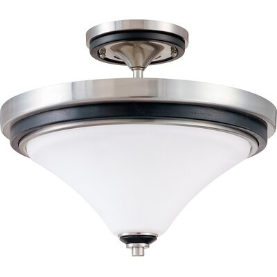 Helle 2-Light Semi Flush Mount