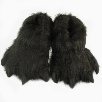 2 Piece Furry Slipper Set Size: Large