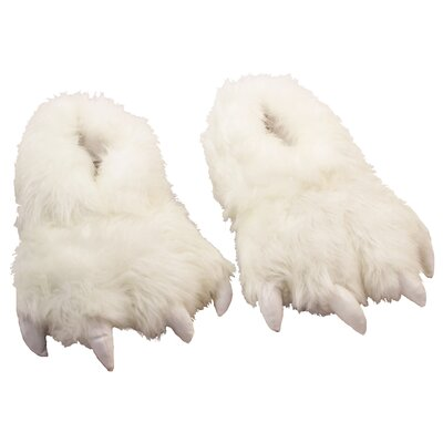 2 Piece Furry Polar Slipper Set