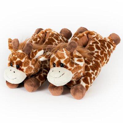 2 Piece Giraffe Slipper Set