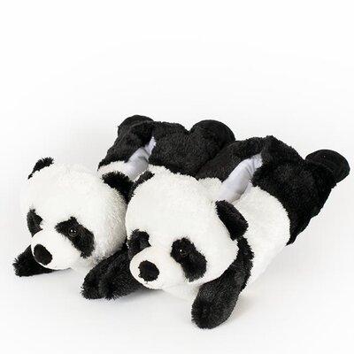 2 Piece Panda Slipper Set
