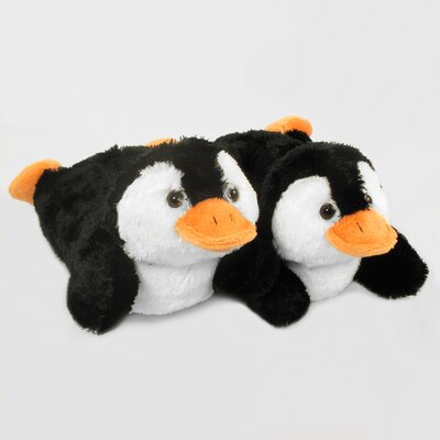 2 Piece Penguin Slipper Set Size: Medium
