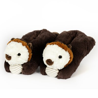 2 Piece Sea Otter Slipper Set