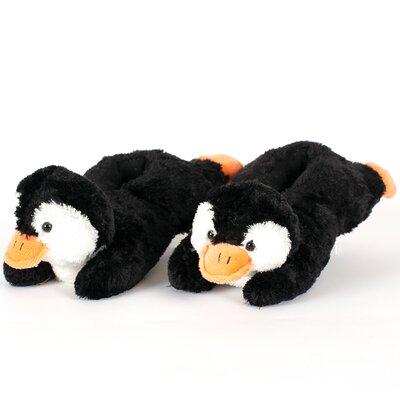 2 Piece Penguin Slipper Set Size: Small