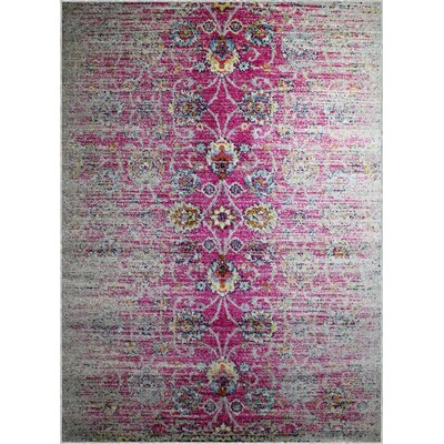 Pena Violet Area Rug Rug Size: Rectangle 74 x 106