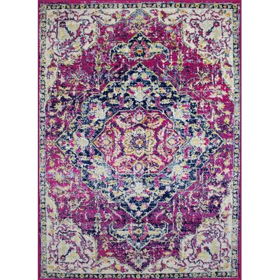 Pena Violet Area Rug Rug Size: Rectangle 37 x 5
