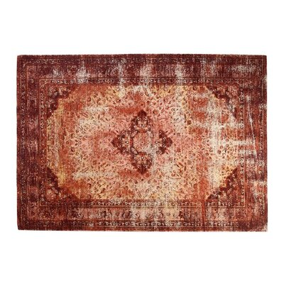Arlosh Cotton Red Area Rug
