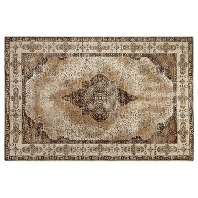 Irving Place Cotton Beige Area Rug