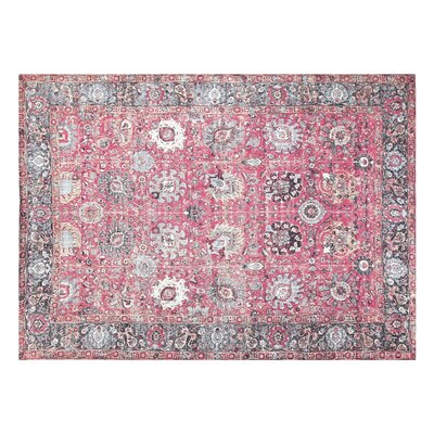 Pipkins Cotton Pink Area Rug