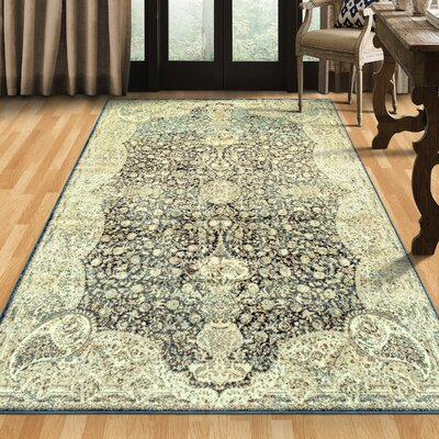 Richburg Beige Area Rug Rug Size: Rectangle 6 x 9
