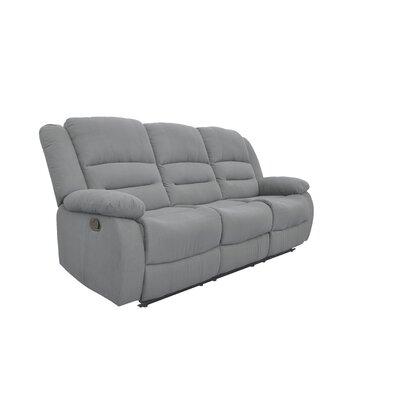 Dedmond Reclining Sofa Upholstery: Blue Gray