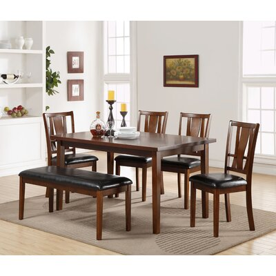 Hudson Square 6 Piece Dining Set