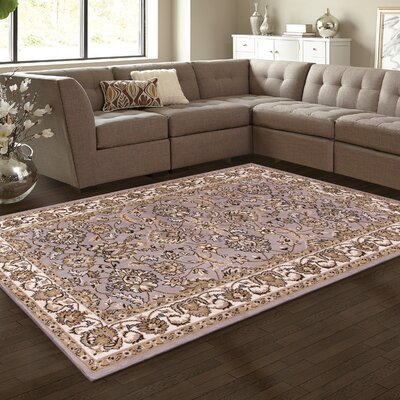 Horsley Gray Area Rug Rug Size: Rectangle 4 x 6