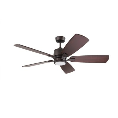 Strausbaugh 72 Strausbaugh 5 Blade LED Ceiling Fan Finish: Satin White