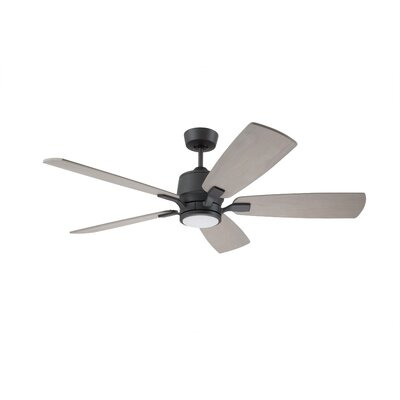 Strausbaugh 72 Strausbaugh 5 Blade LED Ceiling Fan Finish: Oil Rubbed Bronze