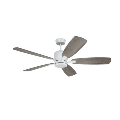 Strausbaugh 72 Strausbaugh 5 Blade LED Ceiling Fan Finish: Graphite