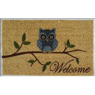 Gaynelle Welcome Owl Doormat