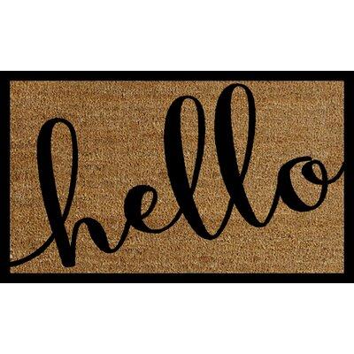 Milliron Hello Doormat