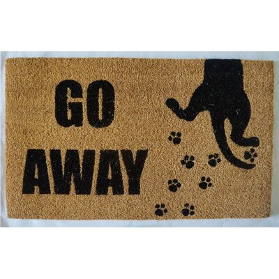 Bardell Go Away Cat Doormat