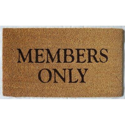 Bardsley Members Only Doormat
