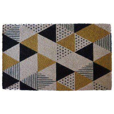 Clabaugh Geo Printed Doormat