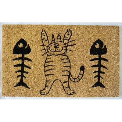 Barcroft Cat and Fish Doormat