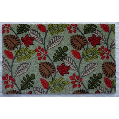 Manahan Fall Leaves Doormat