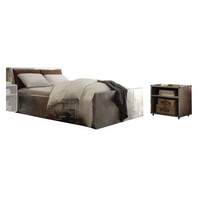 Annessia Storage Queen Platfoorm Configurable Bedroom Set