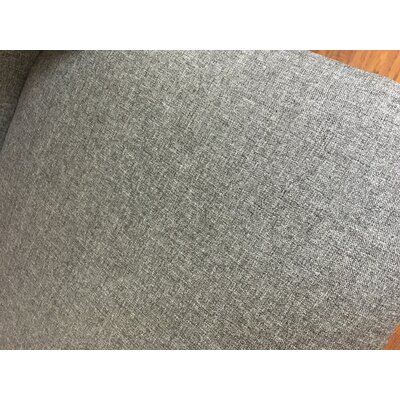 Sawyerville Upholstered Dining Chair Upholstery Color: Gray