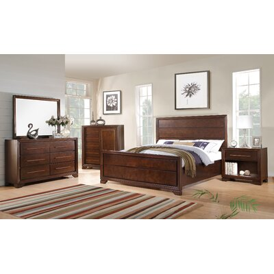 Catania Panel Bed Size: California King