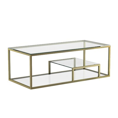 Cayla Coffee Table Color: Gold