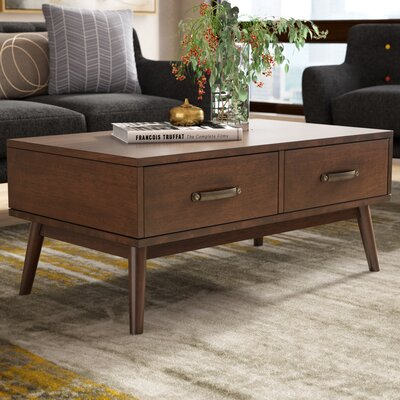 Ripton Mid-Century Modern Coffee Table
