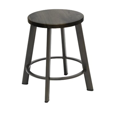 Chalmers 18 Bar Stool Color: Barnwood