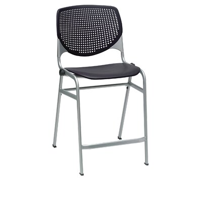 Lundell 25 Bar Stool Color: Black