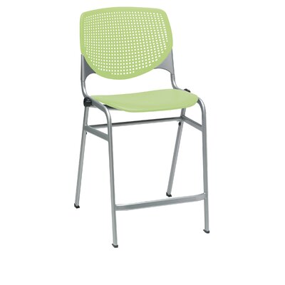 Lundell 25 Bar Stool Color: Lime green