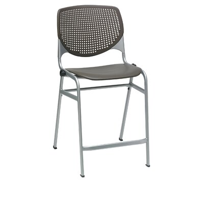 Lundell 25 Bar Stool Color: Brownstone