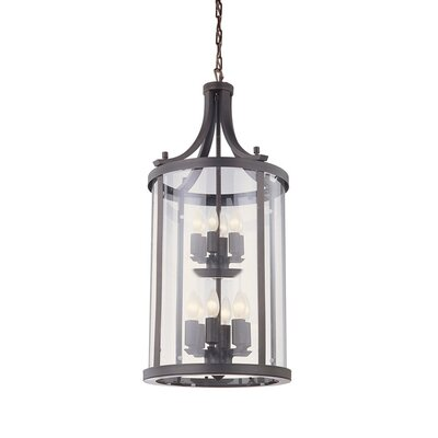 Husman 12-Light Foyer Pendant Finish: Oil Rubbed Bronze