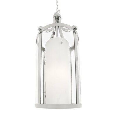 Matthies 2-Light Foyer Pendant Finish: Chrome