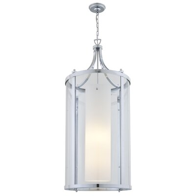 Matthies 3-Light Foyer Pendant Finish: Chrome