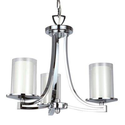 Matthies 3-Light Candle-Style Chandelier