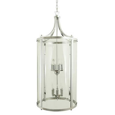 Husman 12-Light Foyer Pendant Finish: Satin Nickel