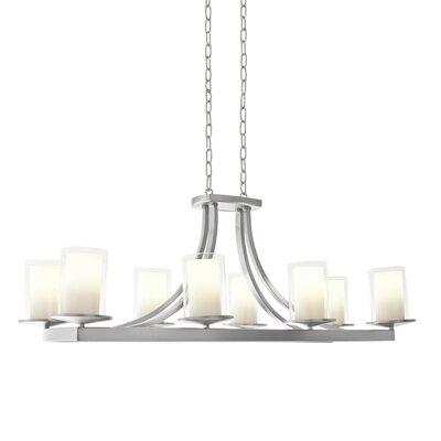 Matthies 8-Light Candle-Style Chandelier Fixture Finish: Chrome