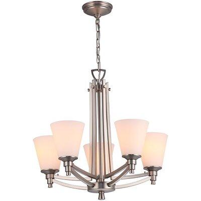 Fielder 5-Light Candle-Style Chandelier