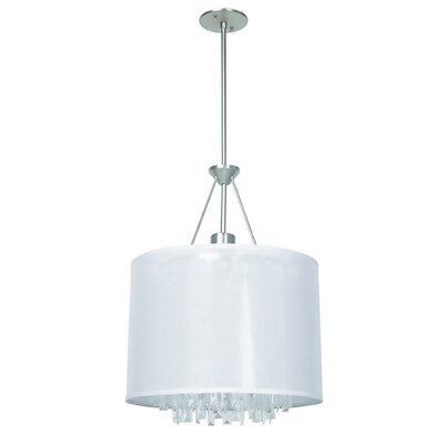 Mills 3-Light Drum Pendant