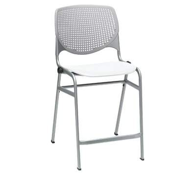 Lundell 25 Bar Stool Color: Light Gray