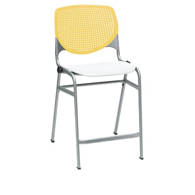Lundell 25 Bar Stool Color: Yellow