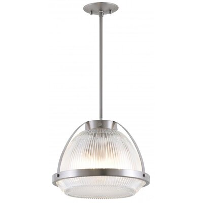 Fieldston 3-Light Inverted Pendant Finish: Chrome